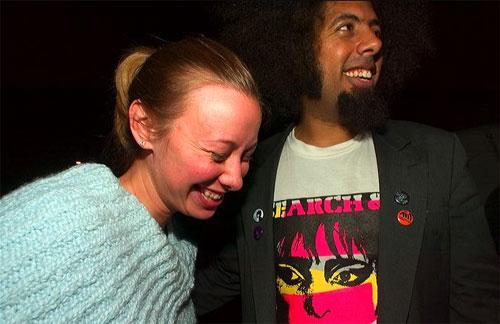 Angie Baxley & Reggie Watts