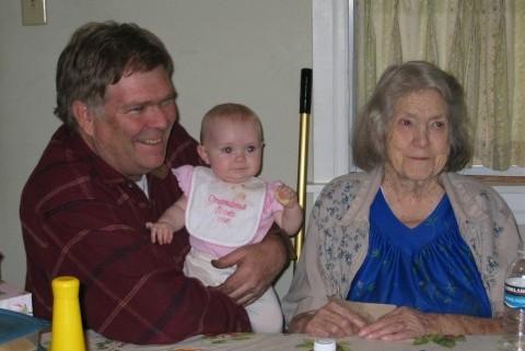 Dad Hailey and Grandma
