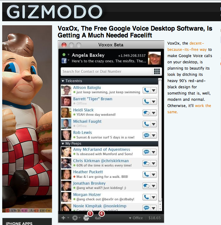 My Face, on Gizmodo. Whoa.