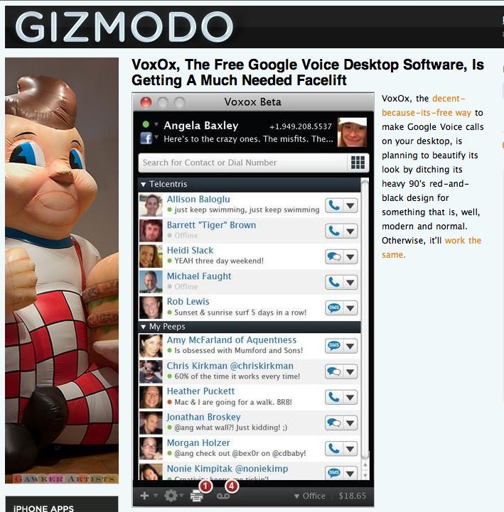 My Face, on Gizmodo. Whoa.