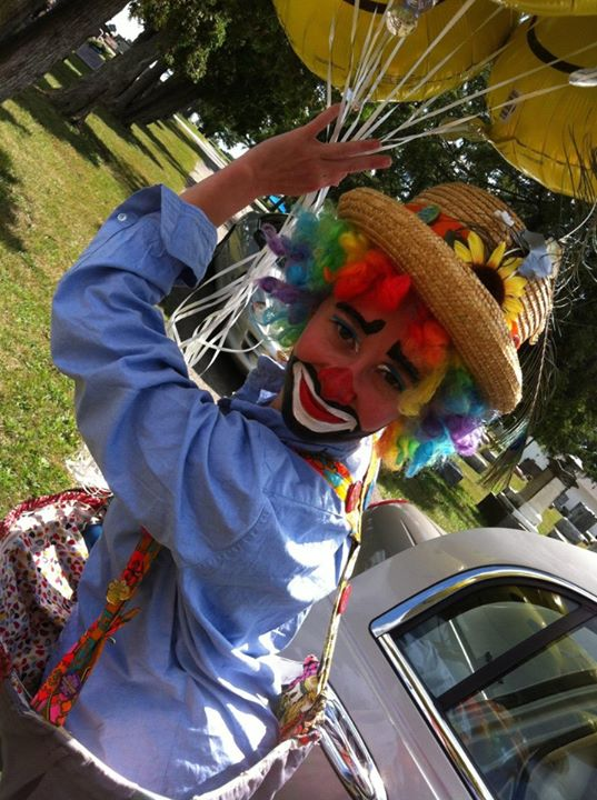 Angela Marie Niblick Baxley, Spunky Gidget the Clown