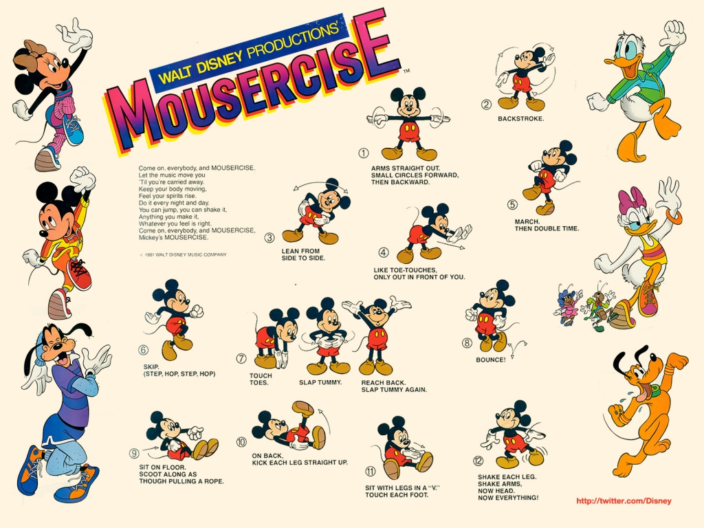 Disney's Mousercise