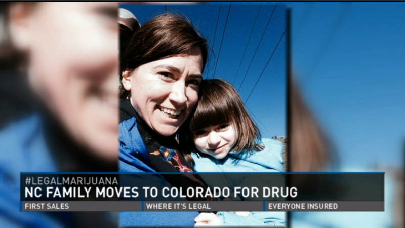 Maddie and Mommy move to Colorado (2014)