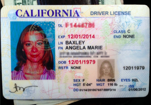My valid and current California ID was in my Tumi backpack in the trunk. I was never identified, and still have not been to this date.