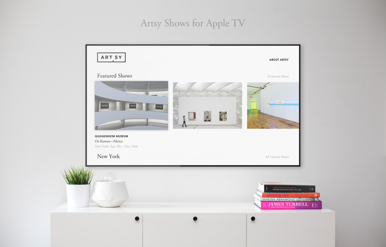 Artsy for Apple  TV
