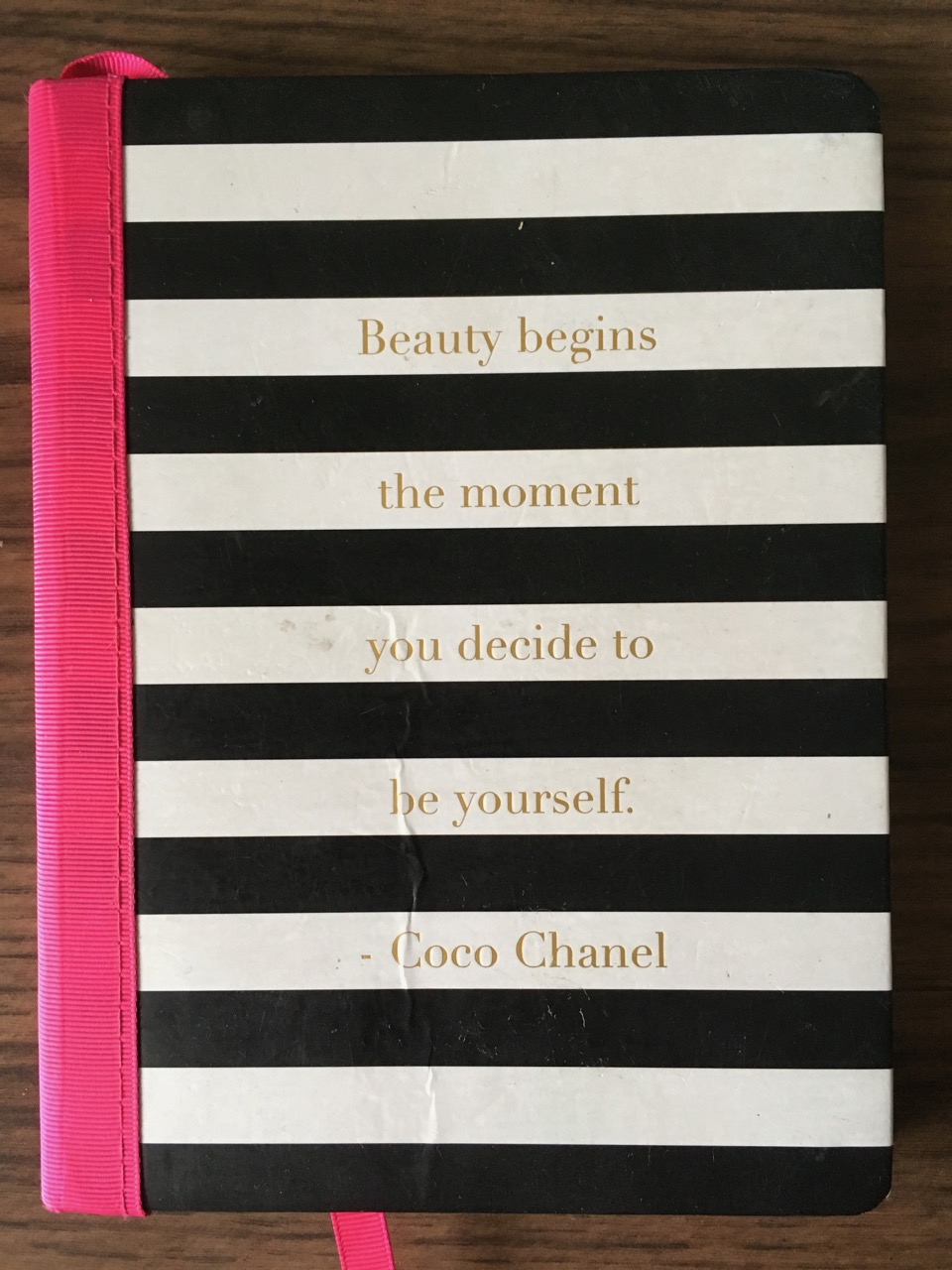 Beauty begins the moment you decide to be yourself. —Coco Chanel
