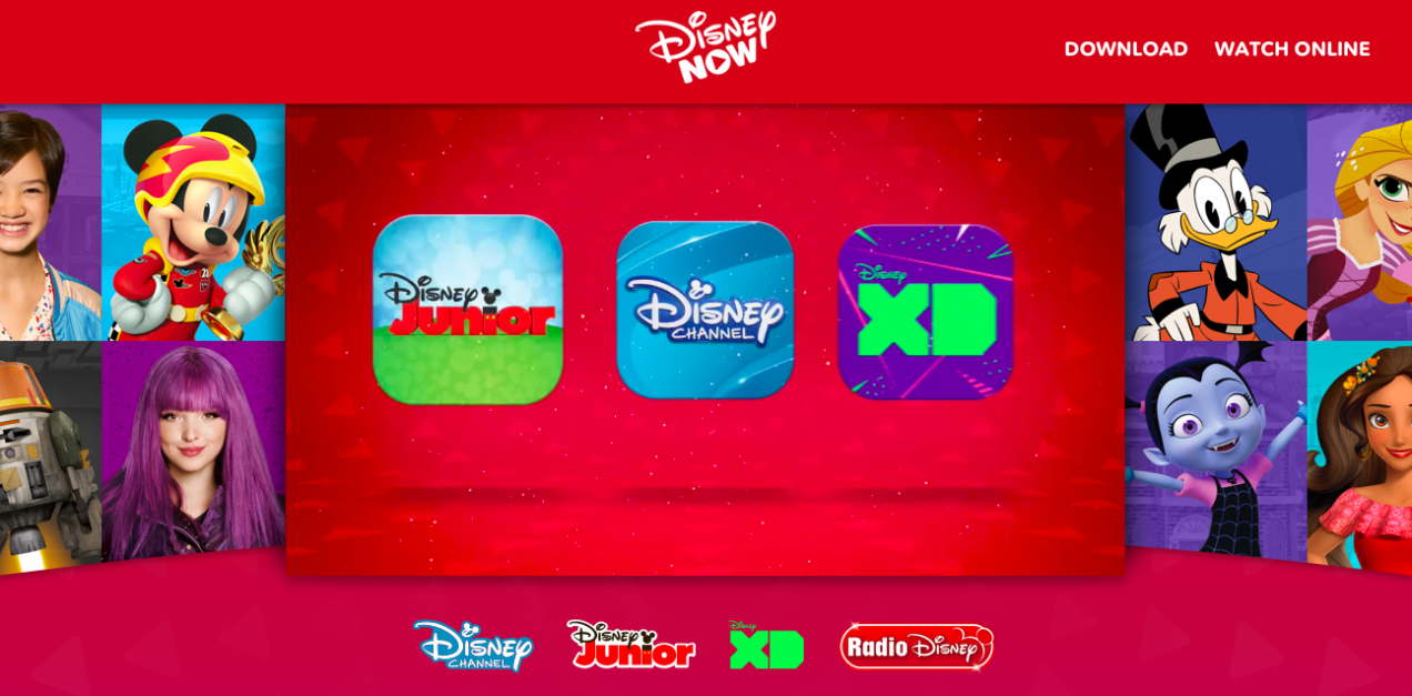 DisneyNOW Launch Banner